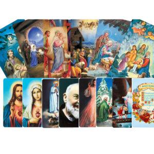 Képeslapok - Kártyanaptárak - Szentképek